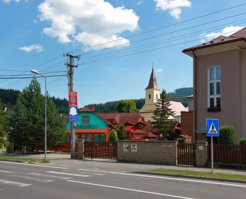 Makov - námestie