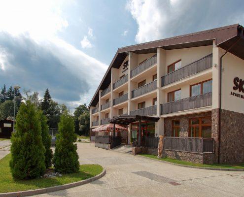 Ski apartmány Makov