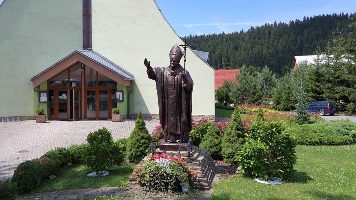 Kostol na vyšnom konci