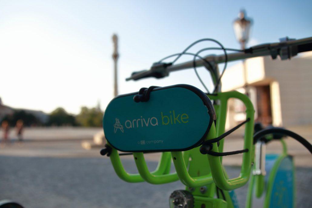 arriva bike stanovište č. 5301 – Svätoplukovo námestie