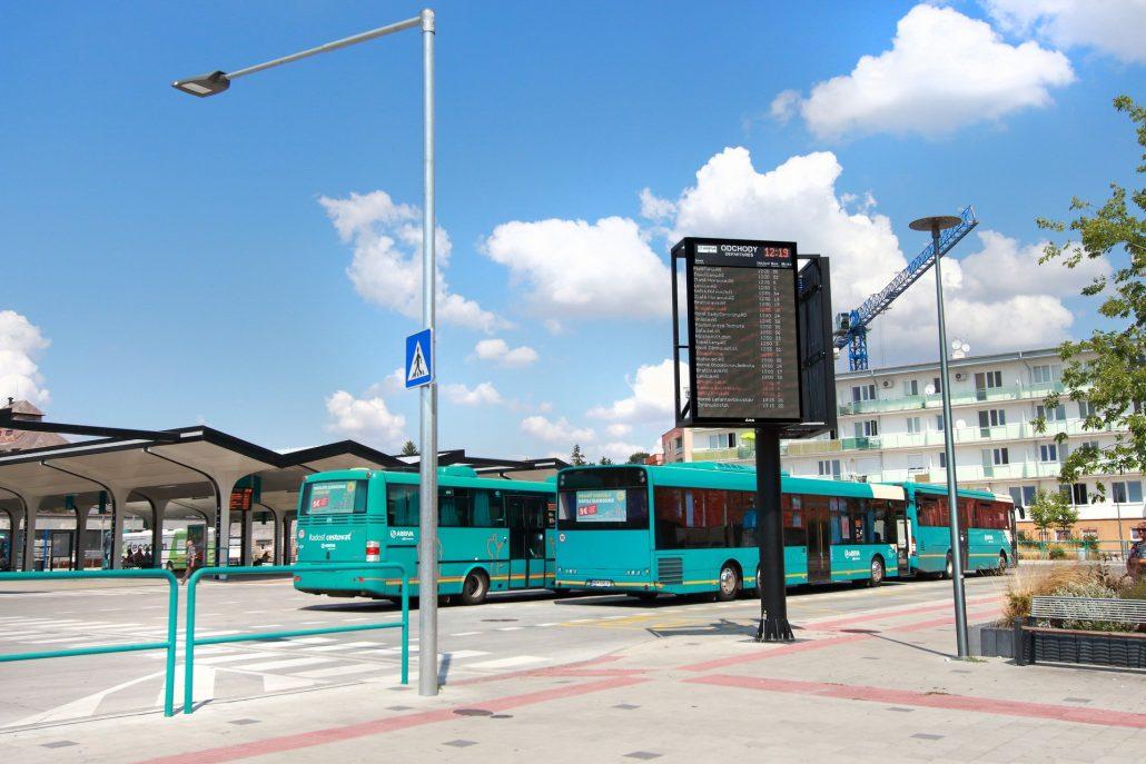Arriva - Autobusová stanica Nitra