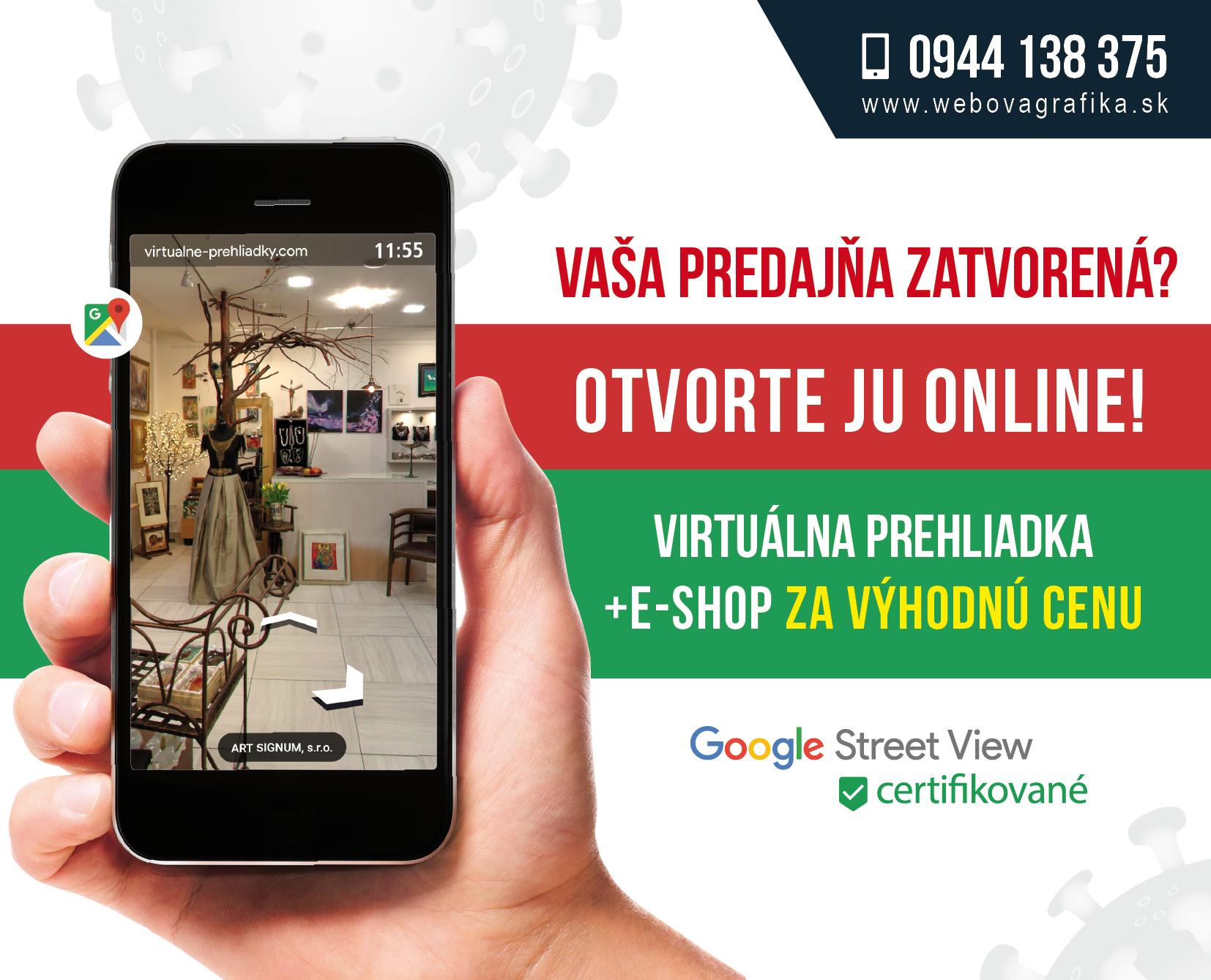 Virtuálne prehliadky - akcia